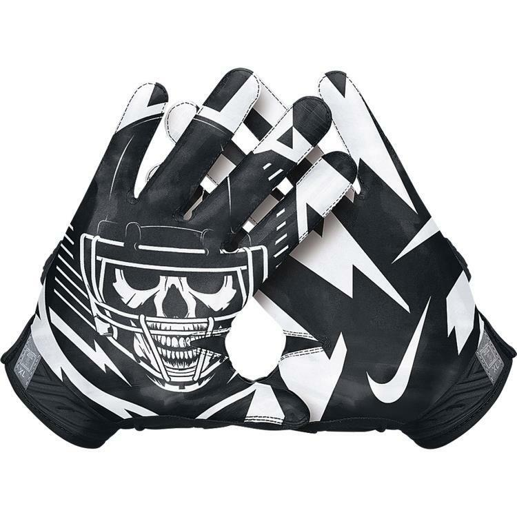 Nike Football Gloves: Nike SuperBad 3.0 Mens Padded Receiver Football Gloves