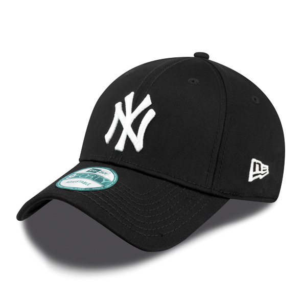31097d9b0e Details about NEW ERA - 9Forty Adjustable Cap. NEW YORK YANKEES. Black White.  OSFA.