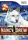 Nancy Drew: The White Wolf of Icicle Creek (Nintendo Wii, 2008)