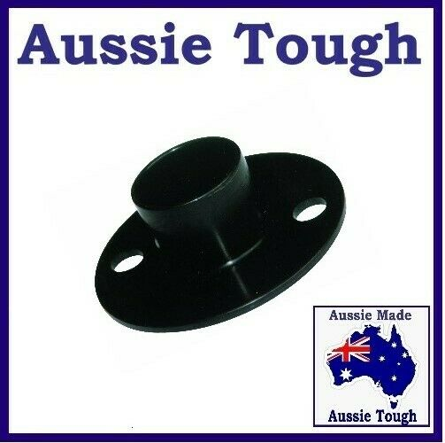 1 X Round Tent Pole Base Ground Plate Heavy Duty Abs