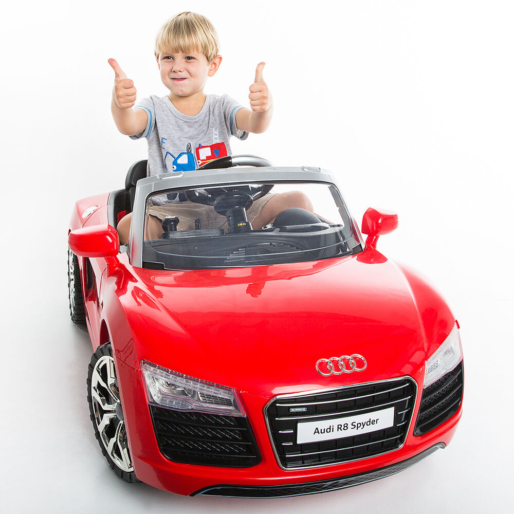 Audi R8 Spyder 12V Electric Kids Ride On Car Licensed MP3