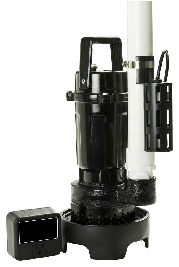 1 2hp Ultra High Capacity Sump Pump With Switch 200 At