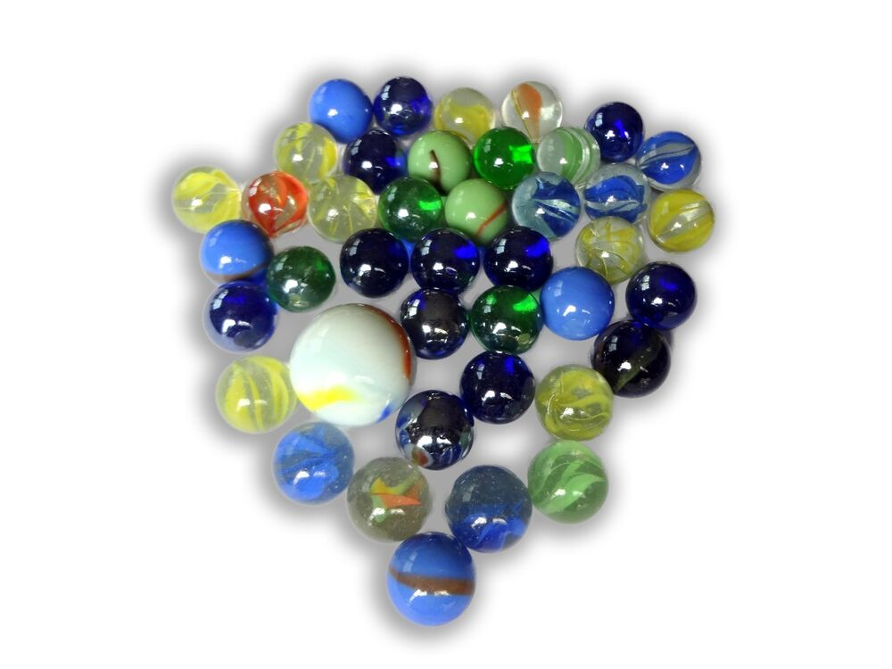 Bulk Colored Marbles : Lot of cats eye bright colored marbles glass quot mm