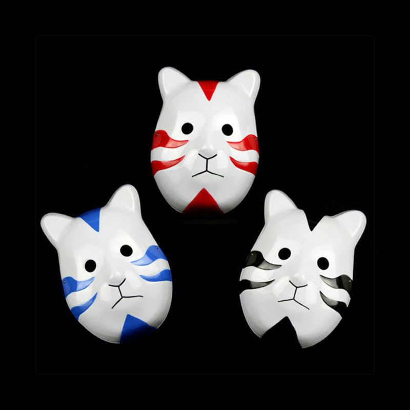 Anime Naruto ANBU Ninja Mask Cool Party Halloween Cosplay ...