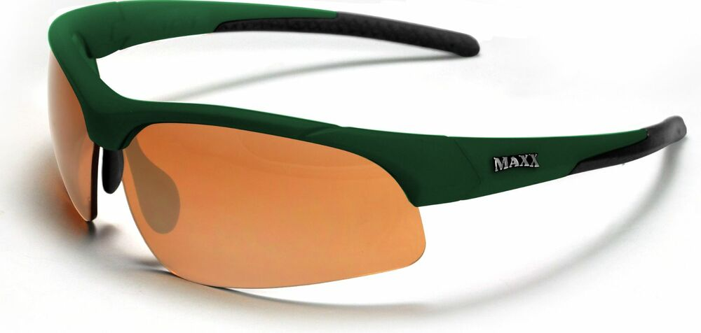 baabfcce87f2 Details about MAXX Stingray 2.0 HD Green For All Outdoor Sports-100% UV400  Shatterproof