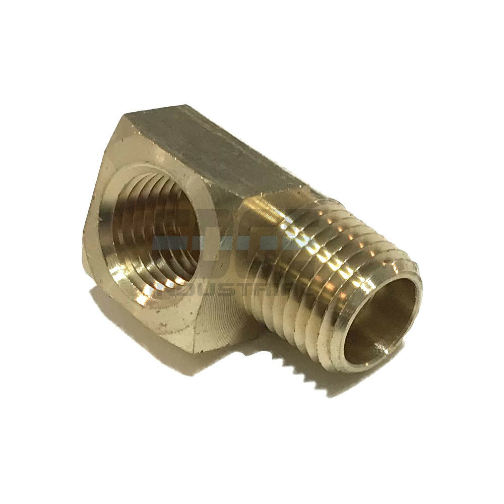 Brass street elbow fitting degree quot npt pipe thread