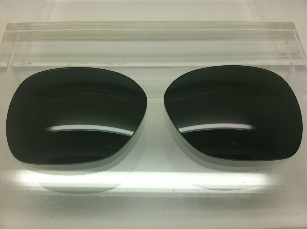 56c2ac5bdb7 Details about Oakley Overtime custom made replacement lenses Black polarized  NEW!!