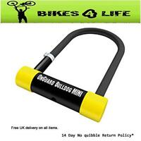 Onguard Bulldog Mini D Cycle Bike Lock Including 120cm Cable