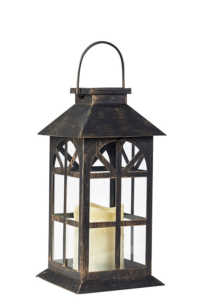 Decorative Solar Light Lantern Lamp Outdoors Garden Yard