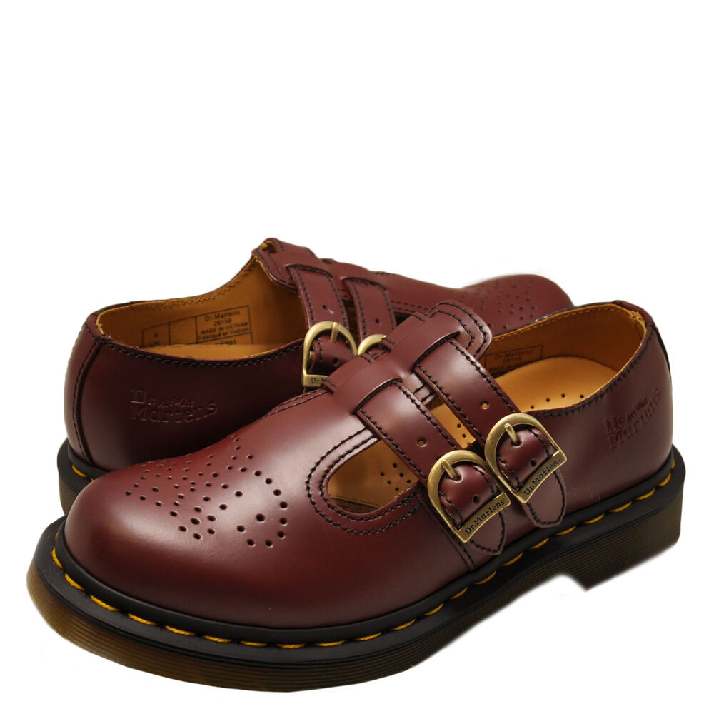 women u0026 39 s shoes dr  martens 8065 double strap mary jane 20159600 cherry red  new