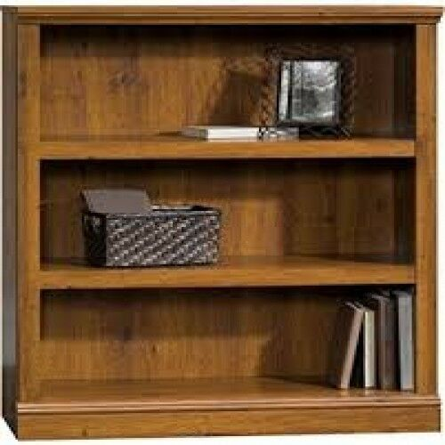 Wood Bookcase Modern Bookshelf Solid Vintage Shelves Stand Den Bedroom Office Ebay