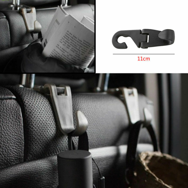 portable car seat headrest coat hook purse bag hanging hanger organizer holder ebay. Black Bedroom Furniture Sets. Home Design Ideas