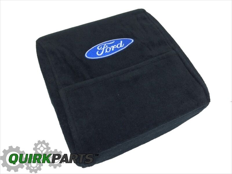 2004 Ford F150 Seat Covers >> 2004-2014 Ford F-150 F-250 F-350 F-450 CENTER CONSOLE ARMOUR COVER W/FORD LOGO | eBay
