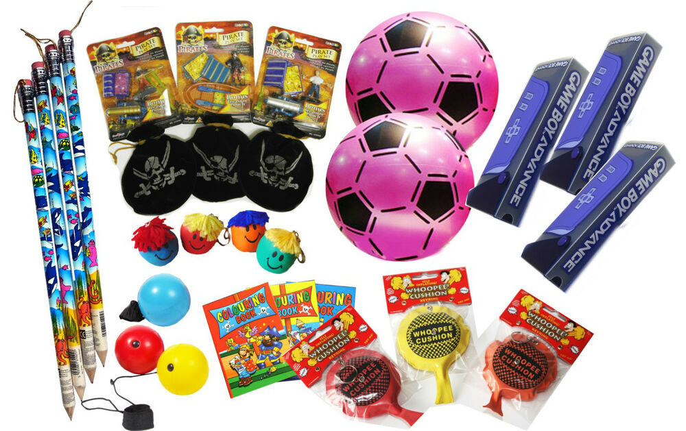 Bulk Prize Toys : Assorted tombola toys pta party fundraising job lot