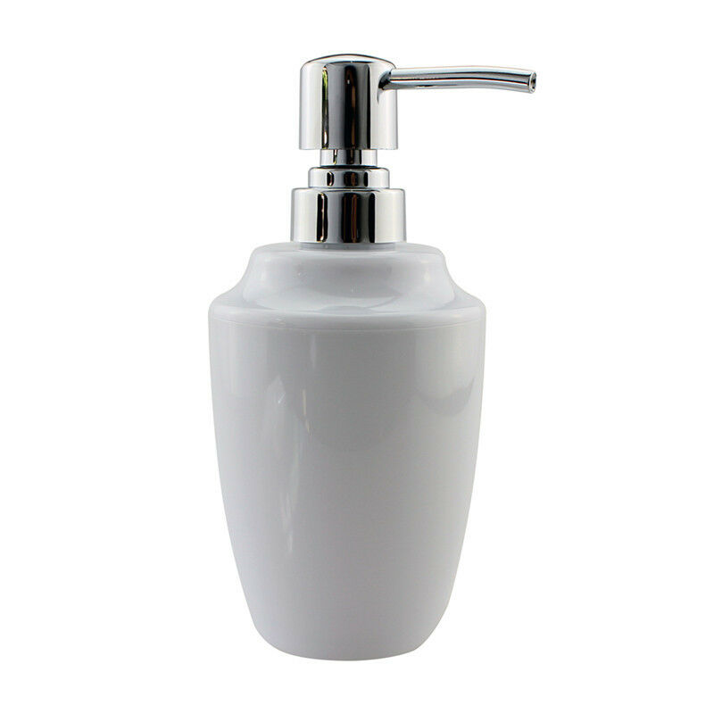White Hand Soap Dispenser Pump Bottle For Shampoo Bathroom