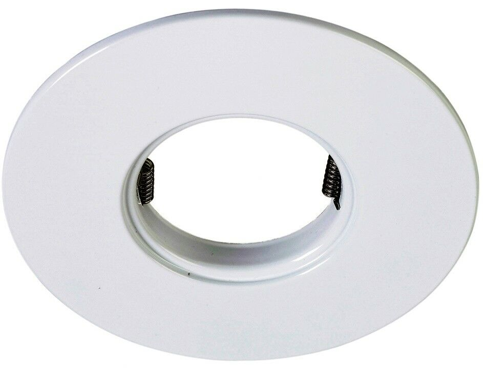 white downlight conversion plate convert old halogen. Black Bedroom Furniture Sets. Home Design Ideas