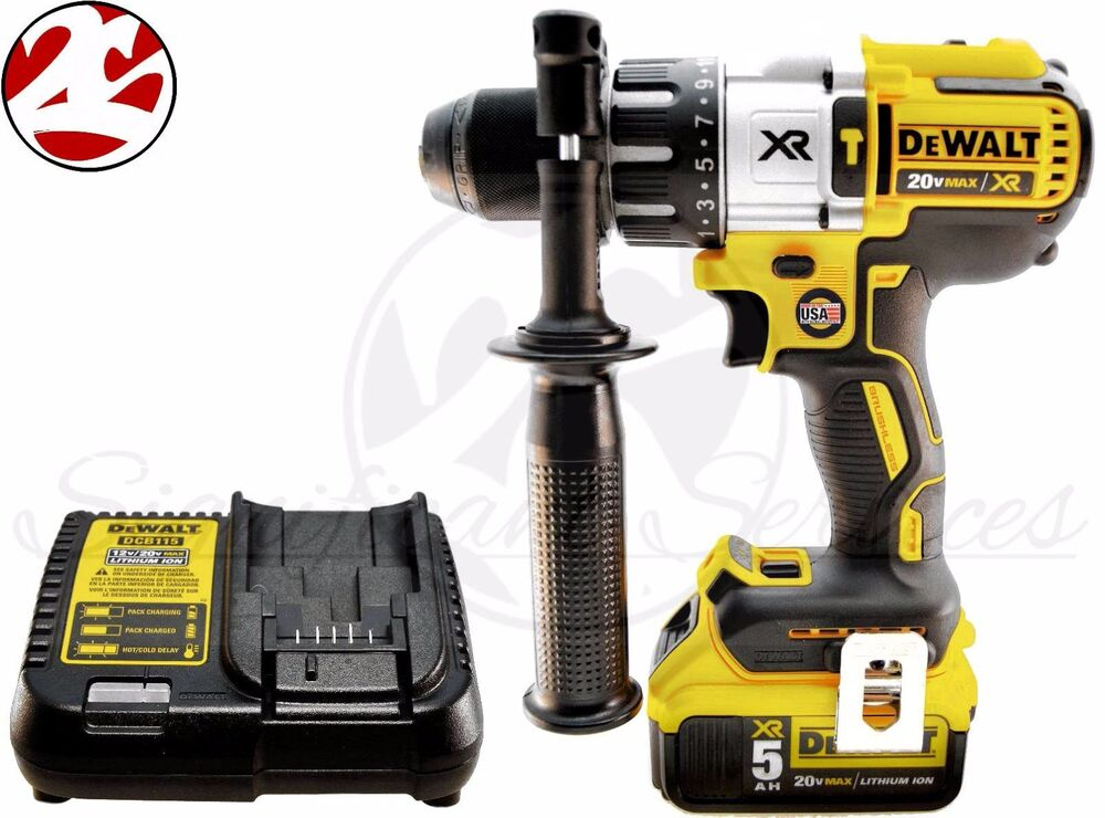 Dewalt dcd996b 20v max lithium xr 1 2 brushless 3 speed for Dewalt 20v brushless motor
