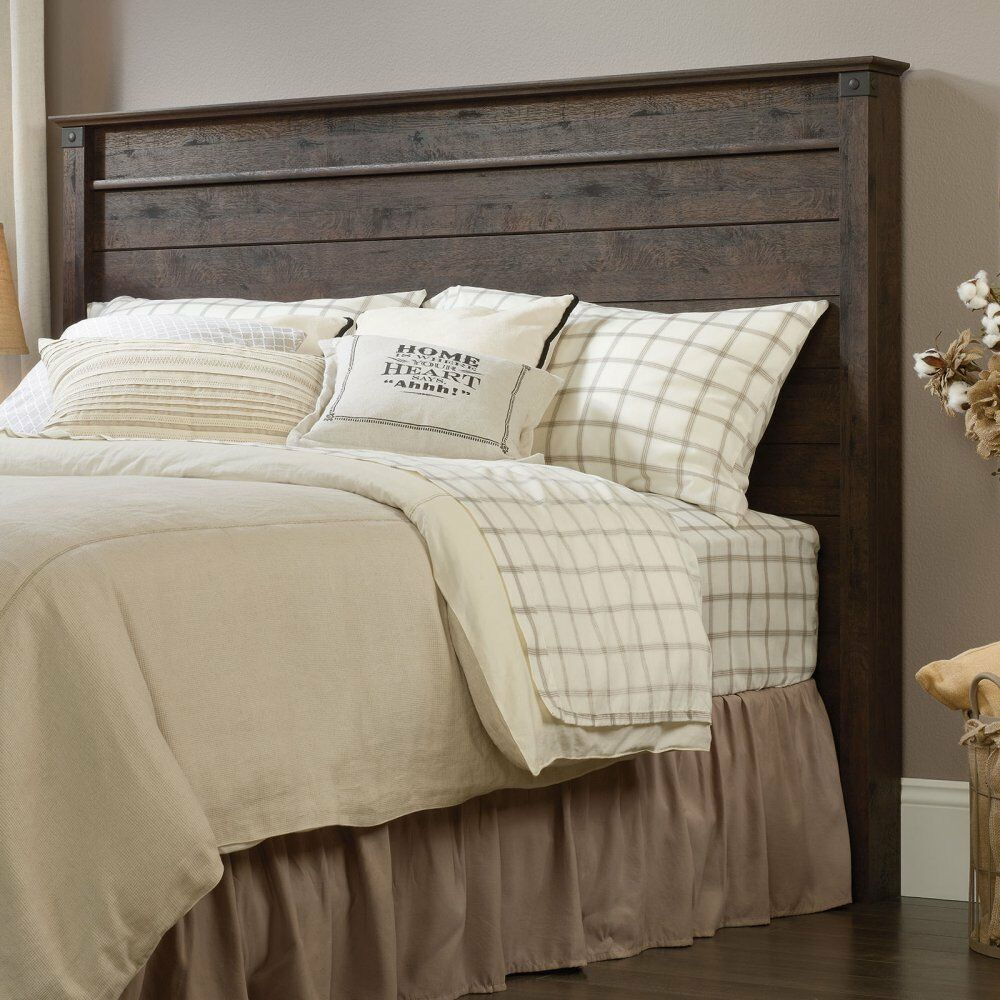Sauder 419887 Carson Forge Full Queen Panel Headboard In