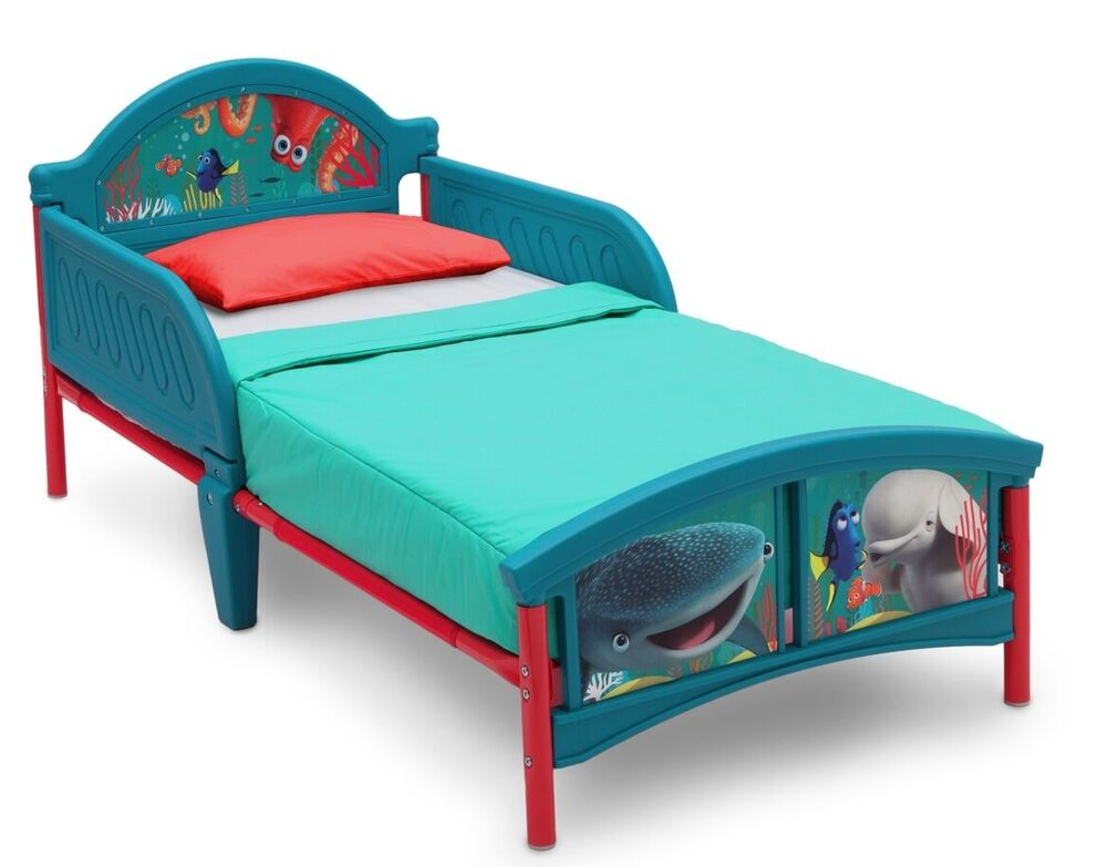 kinderbett disney dory nemo 70x140 cm rausfallschutz jugendbett kind bett neu ebay. Black Bedroom Furniture Sets. Home Design Ideas