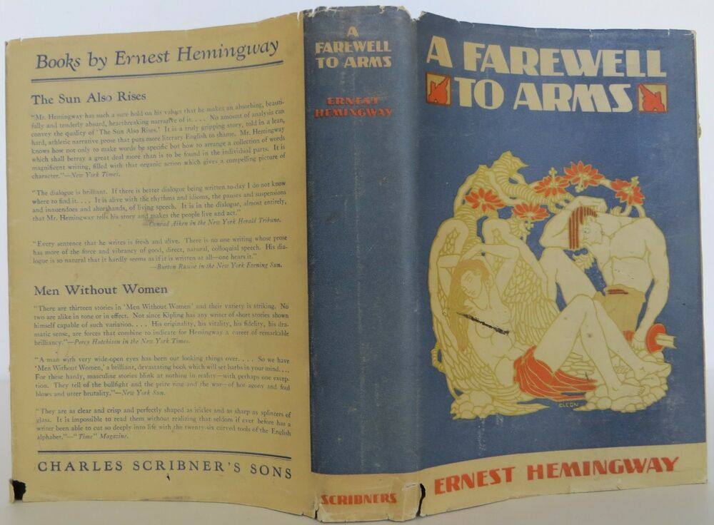 analysis of a farewell to arms by ernest hemingway Abstract a farewell to arms is one of hemingway's works which uses battle field  as setting this novel is full of humanism message which depict social problem.