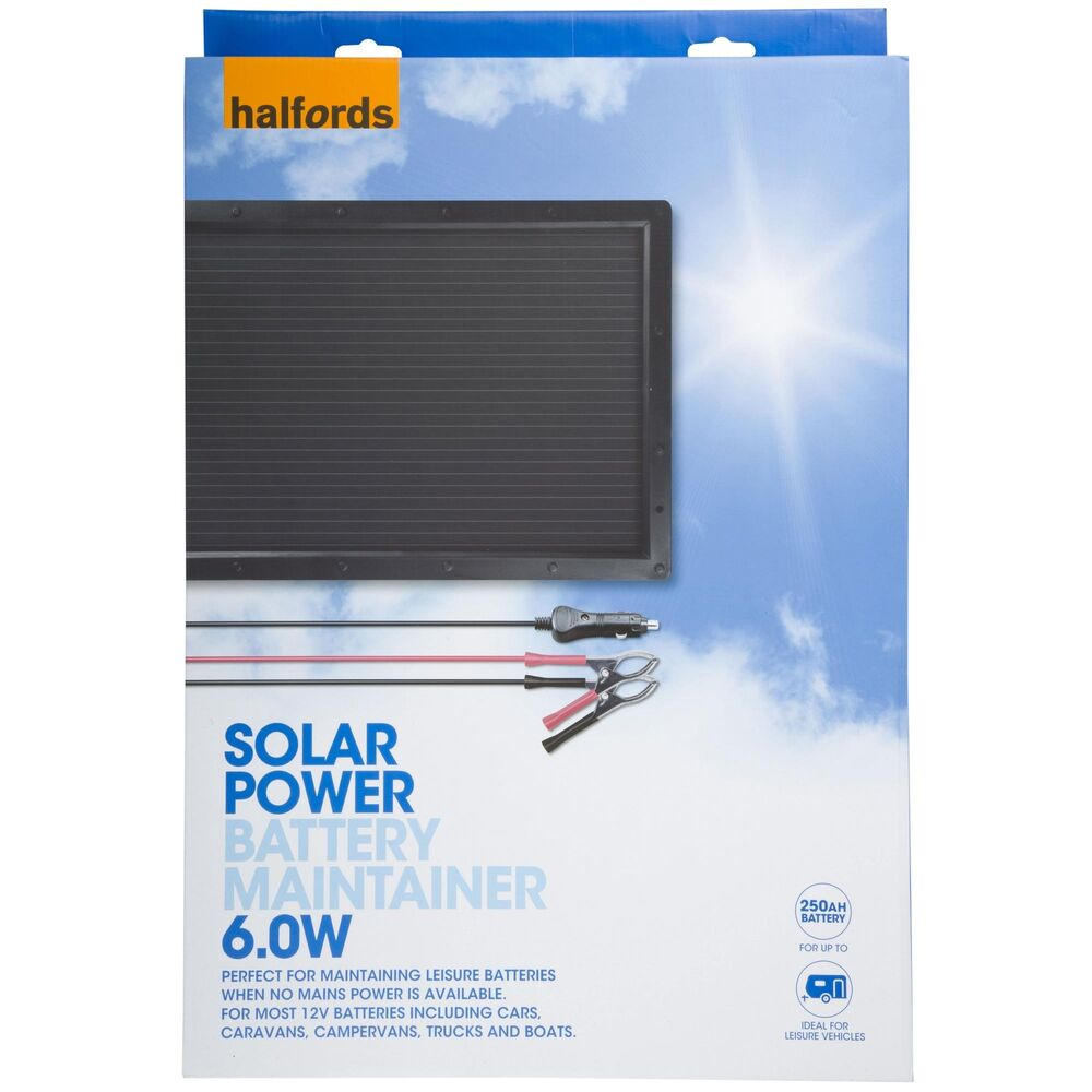All Power V  W Solar Car Battery Charger