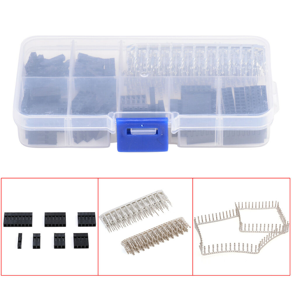 322051343224 furthermore 181857588859 moreover 13 moreover 191982127619 in addition 420pcs Dupont Wire Jumper Pin Header Connector Housing Kit Male Crimp Pins Female Pin Connector Terminal Pitch With Box. on dupont 2 54mm 1 pin header connector