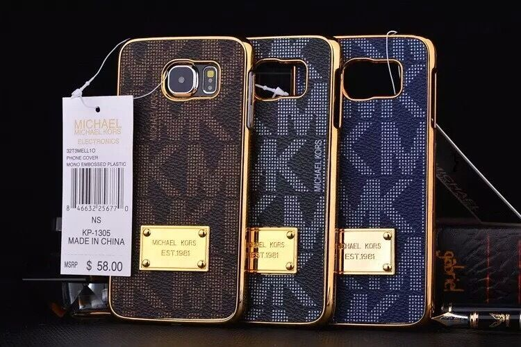 Fits Samsung Galaxy S7 Edge Michael Kors Clip On Cover