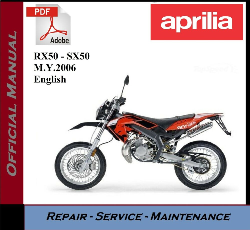 aprilia rx50 sx50 m workshop service repair. Black Bedroom Furniture Sets. Home Design Ideas
