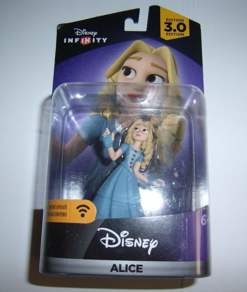DISNEY INFINITY 3.0 Character Figure Alice New Sealed Fast