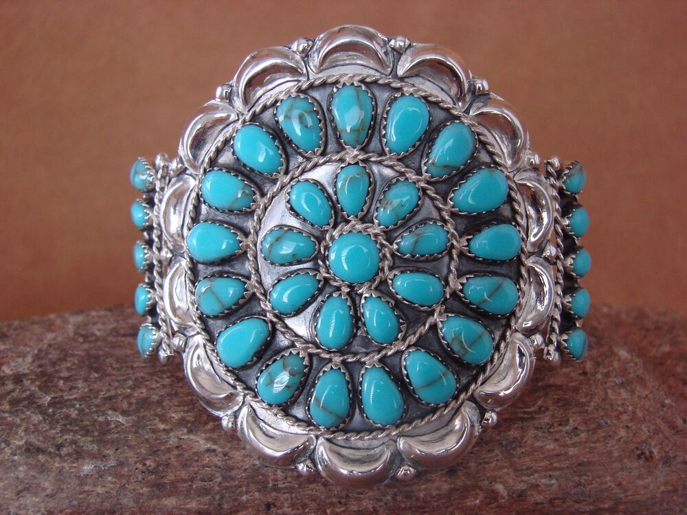 native american indian jewelry sterling silver turquoise. Black Bedroom Furniture Sets. Home Design Ideas