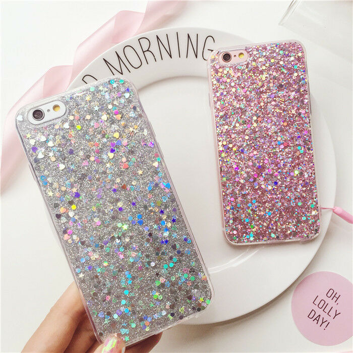 glitter iphone 5 case luxury bling glitter soft silicone cover for 7919