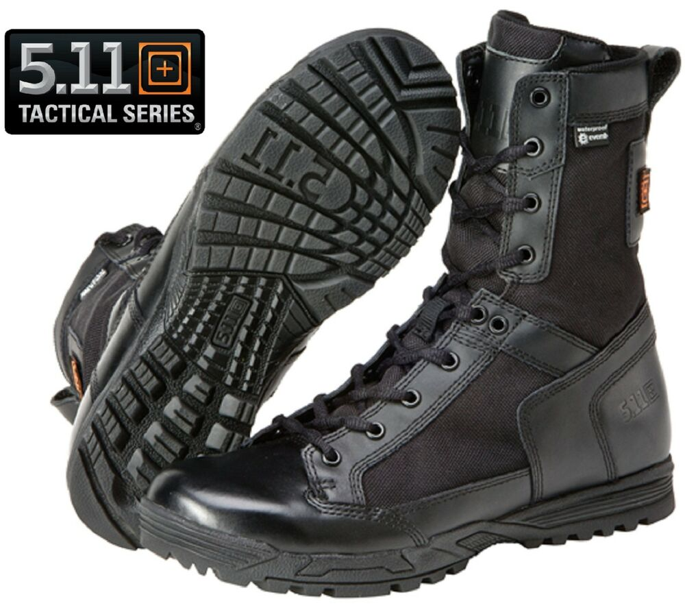 5 11 Tactical Black Skyweight Waterproof Side Zip Field