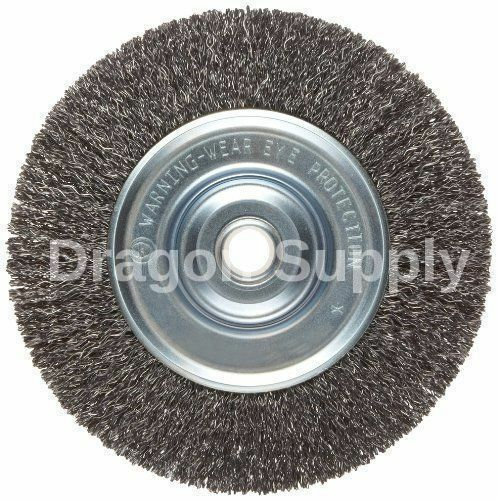 New 6 Quot Steel Wire Wheel Brush For Bench Grinders W 1 2