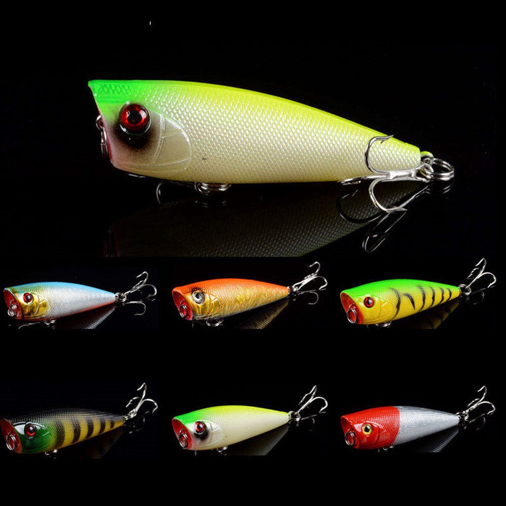 1pcs hard popper topwater fishing lures crankbaits bass for Bass pro fishing lures