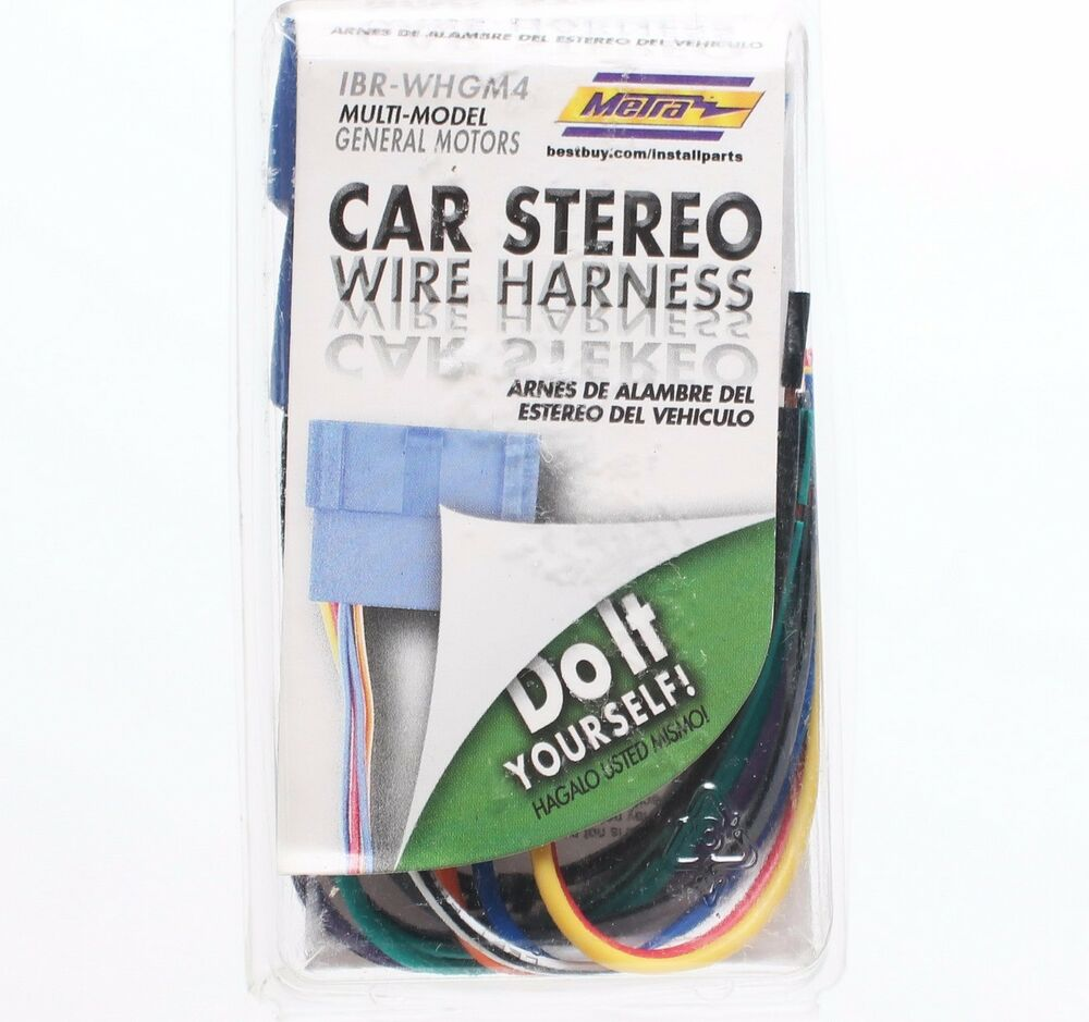 Metra Ibr-Whcr2 Car Stereo Wiring Harness Diagram from i.ebayimg.com