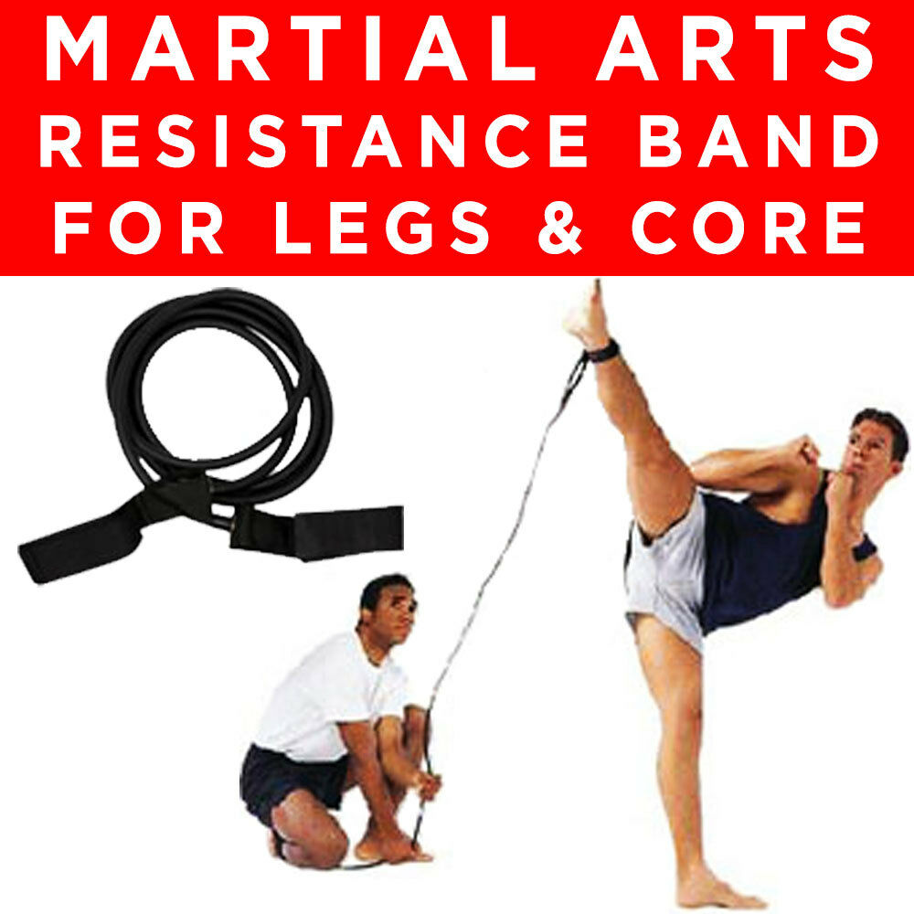 HEAVY MARTIAL ARTS MMA ANKLE LEG QUAD CALF RESISTANCE