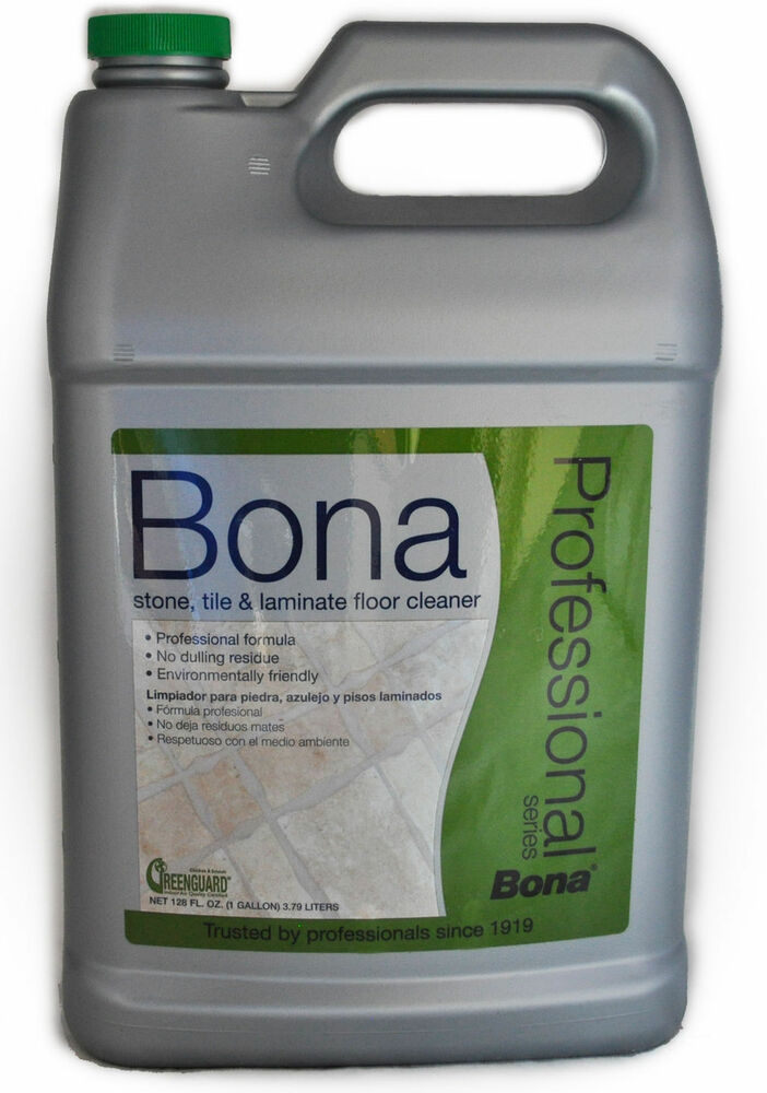 Bona Professional Series Stone Tile Laminate Floor Cleaner 1 Gallon 616469862112