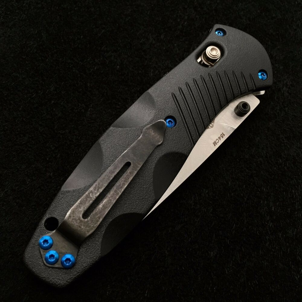 benchmade 580 barrage screw set titanium blue no knife 11 screws ebay. Black Bedroom Furniture Sets. Home Design Ideas