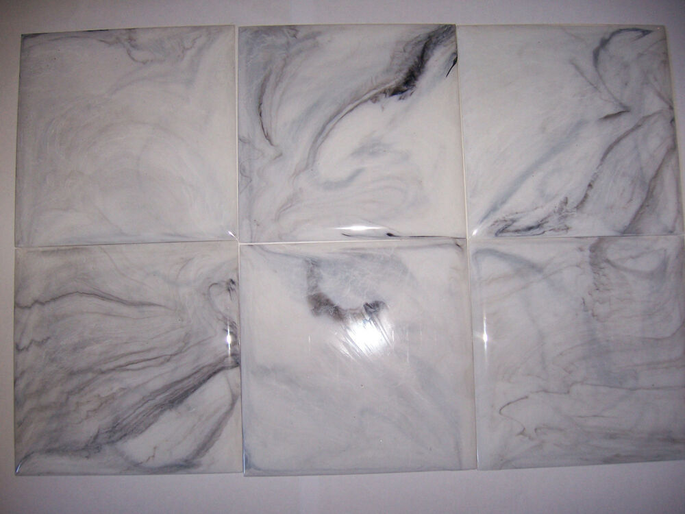 plastic wall tiles bathroom vintage white grey marble plastic tile 4 1 4 quot wall 20002