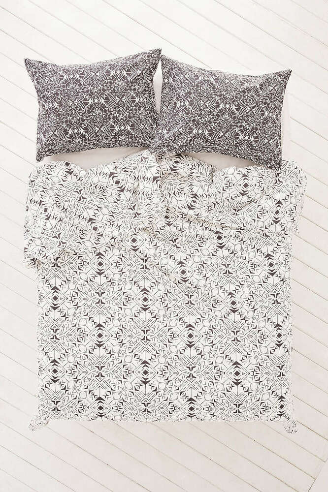 Urban Outfitters Magical Thinking Orson Geo Twin Xl Duvet