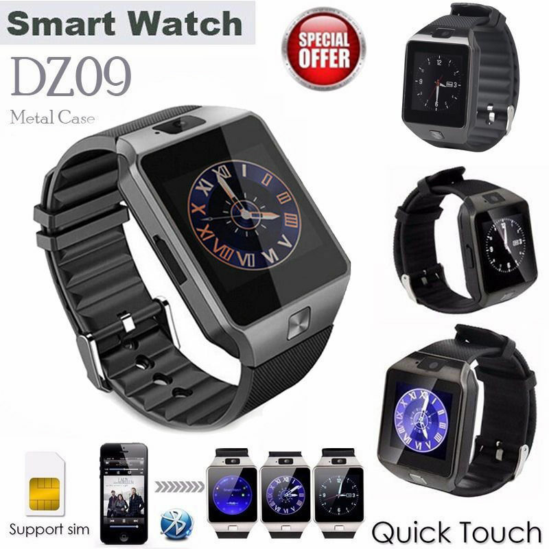 smart watches for iphone dz09 bluetooth wrist smart phone sim card for 3299