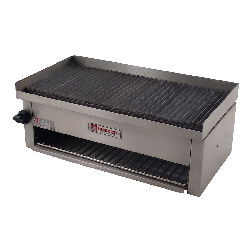 Commercial Gas Grill Charbroiler With Cheese Melter