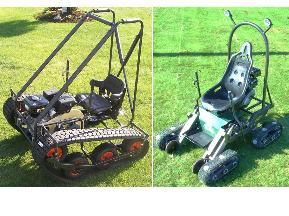 Personal Tracked Vehicle Amp Mantis Go Kart Twin Pack Plans