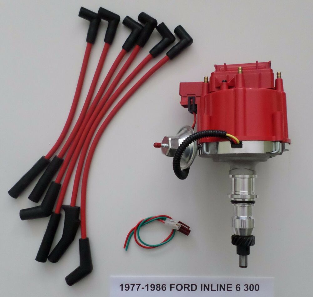 Ford 300 Inline 6 : Ford inline straight cyl  hei distributor