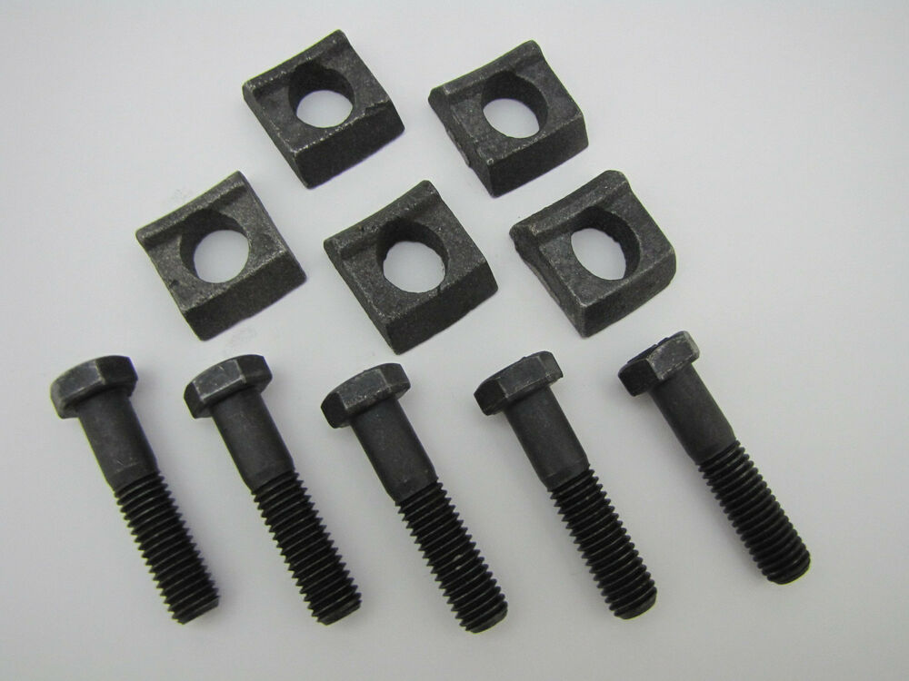Mobile home wheel rim clamp bolt quot pack wedge lowboy