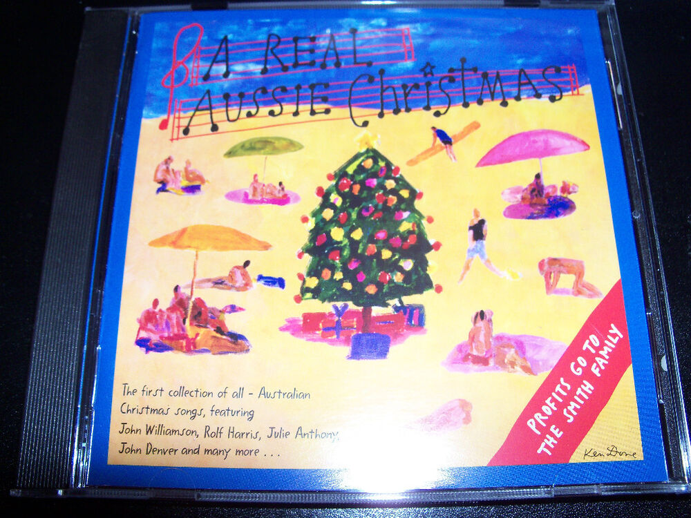 A real aussie Christmas CD John Willimson Rolf Harris Julie Anthony ...