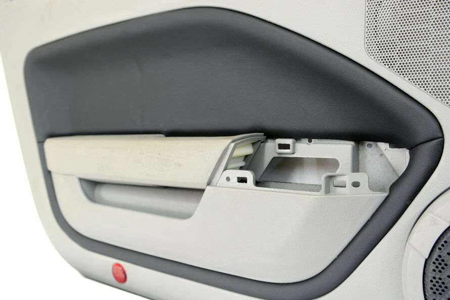 Door Panel Insert Cards Leather Synthetic For Ford Mustang 05 09