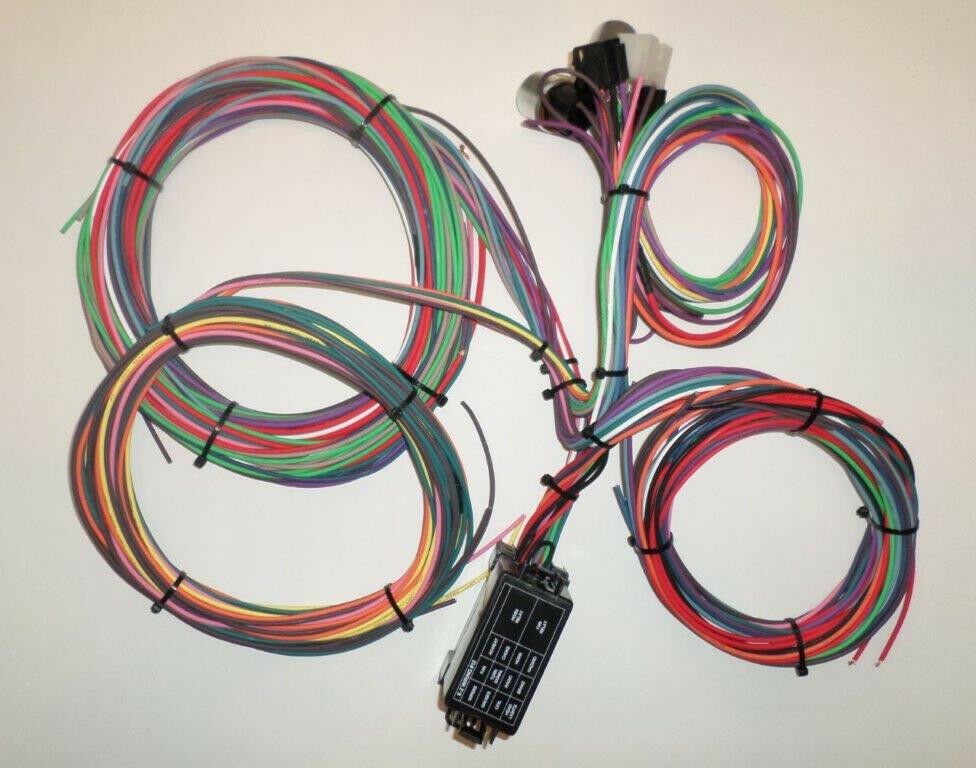 Circuit ez mini fuse wiring harness chevy ford hotrods
