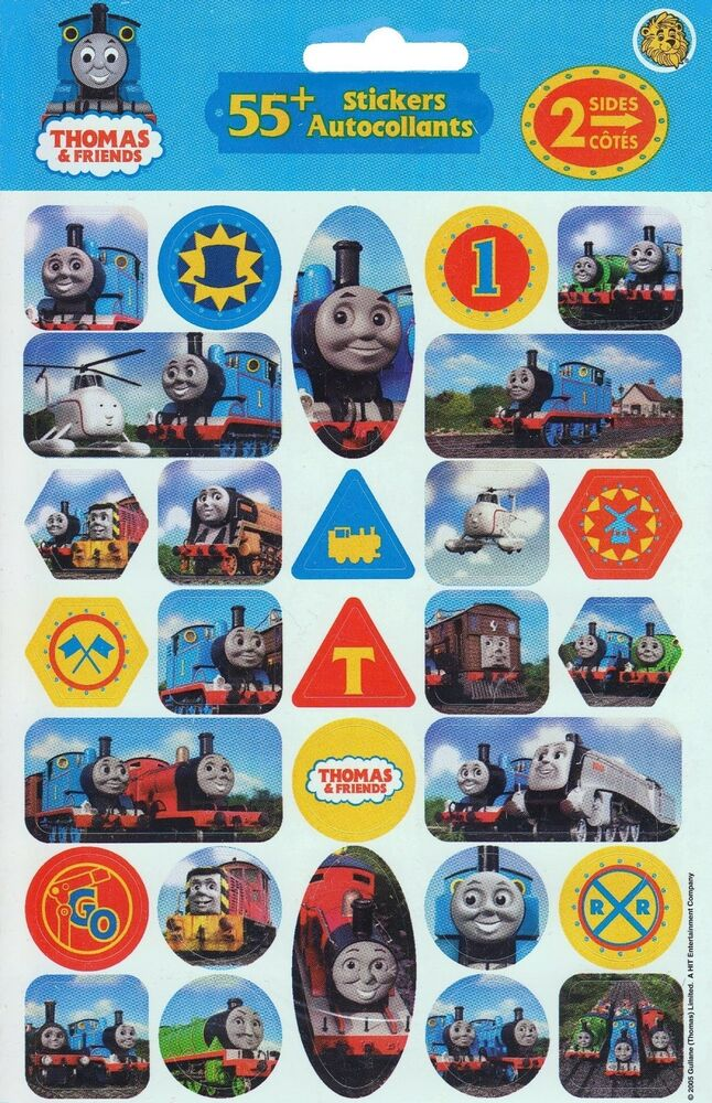 2 Packages Thomas the Train Tank Engine and Friends 55