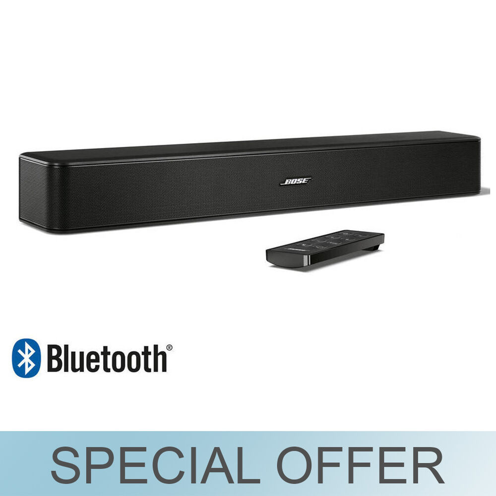 bose solo 5 tv 22 bluetooth sound bar 2 channel w wall. Black Bedroom Furniture Sets. Home Design Ideas